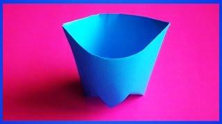 оригами стаканчик как сделать из бумаги стакан бумажный стаканчик / origami cup