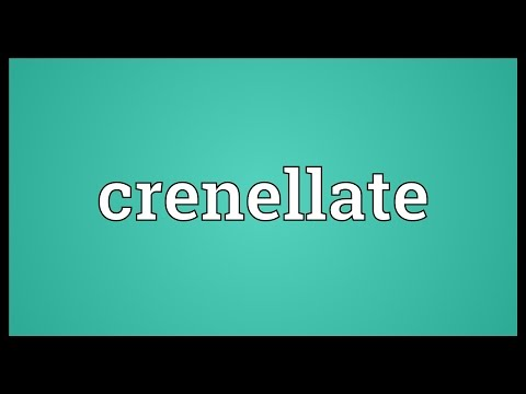 Header of crenellate