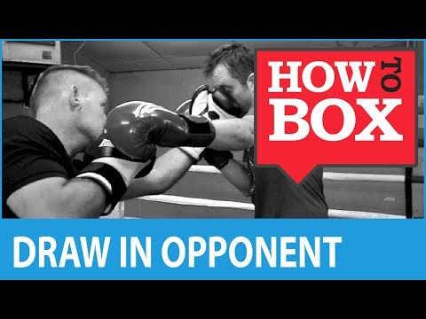 Draw the opponent onto your punches - How to Box (Quick Videos)