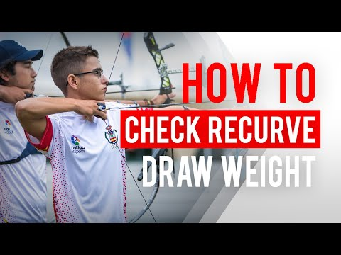 How To Check If A Recurve Bow's Draw Weight Is Too Heavy