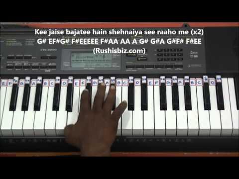 Kabhi Kabhi Mere Dil Me (Classical) - Piano Tutorials| 7013658813 - PDF NOTES/BOOK - WHATS APP US
