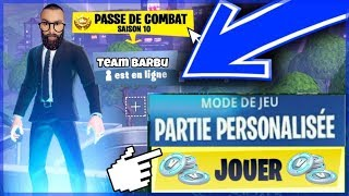 Tournament PP Duo GAGNE 2 SKIN 2400 VBUCK [ Live Fortnite en ]
