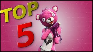 TOP 5 BEST SKINS for FORTNITE! (In my opinion)