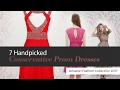 7 Handpicked Conservative Prom Dresses Amazon Fashion Collection 2017