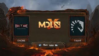 Team Liquid vs EHOME, MDL Chengdu Major, bo3, game 2 [Mortalles & Adekvat]
