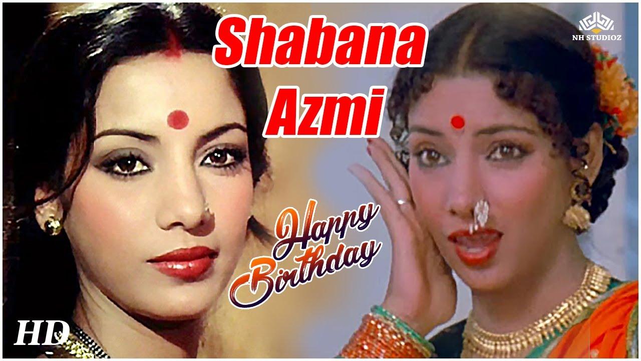 Happy Birthday Sabhana Azmi | Many Many Happy Returns Of The Day | Bollywood Hindi Songs