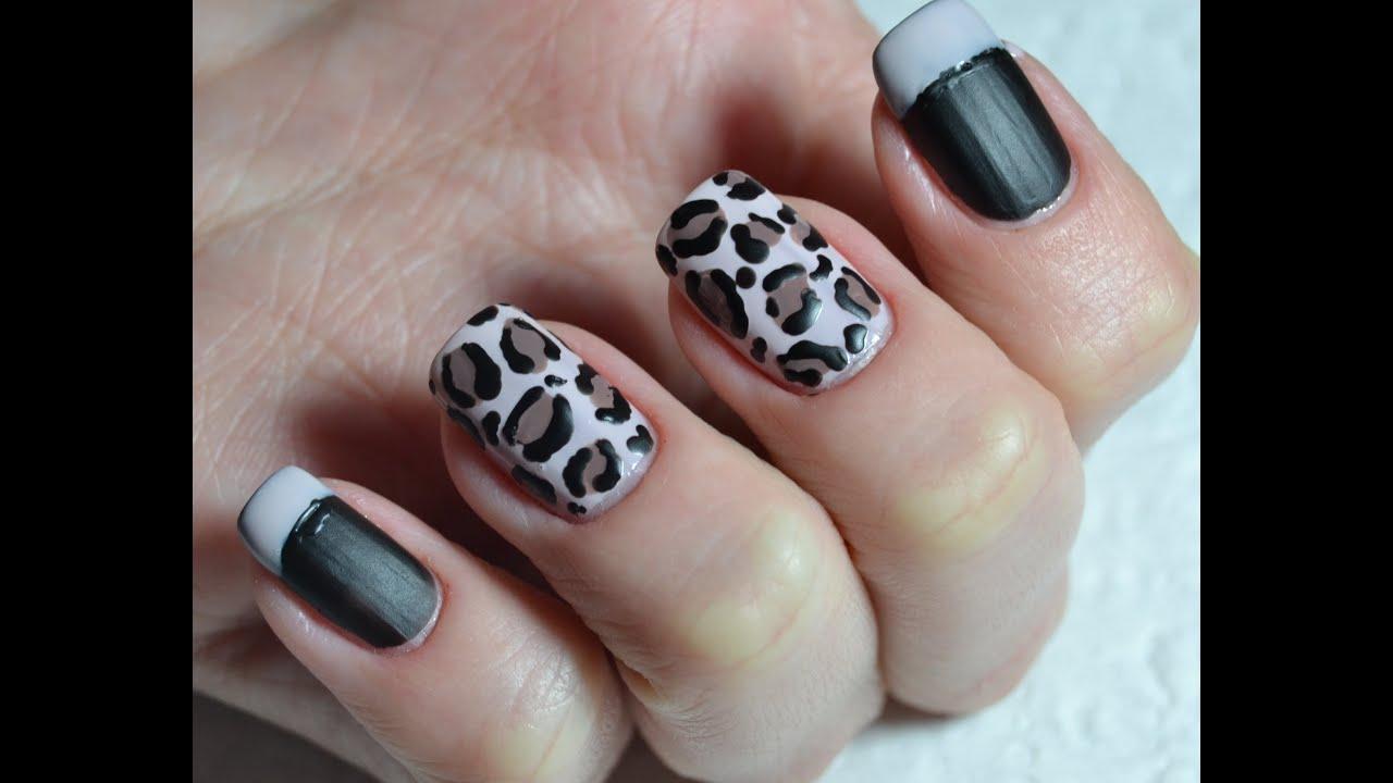 Идеи для маникюра леопард