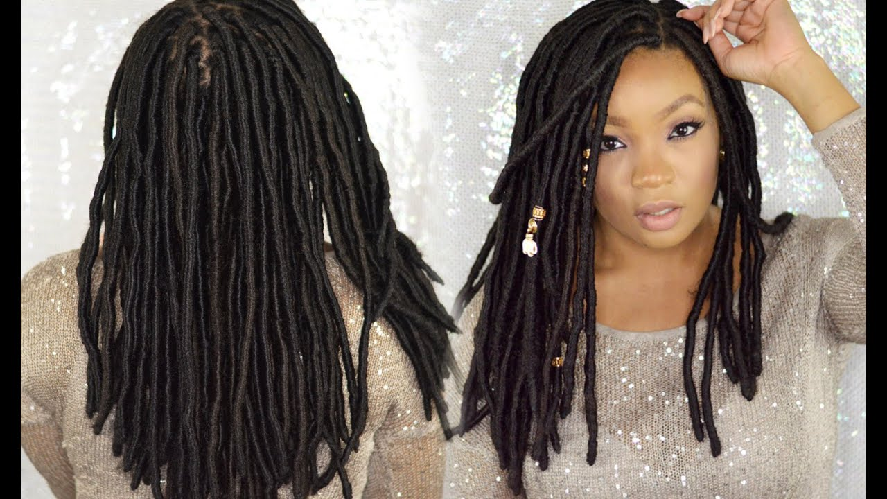 FAUX LOCS TUTORIAL LINGYWASHERE YouTube