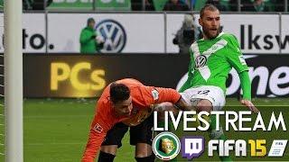 VFL WOLFSBURG : SC FREIBURG - DFB POKAL | Prognosen [FIFA 15 LIVESTREAM]