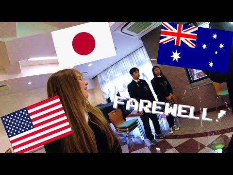 Farewell Party for the Australian Exchange Students! (JAPAN EXCHANGE)