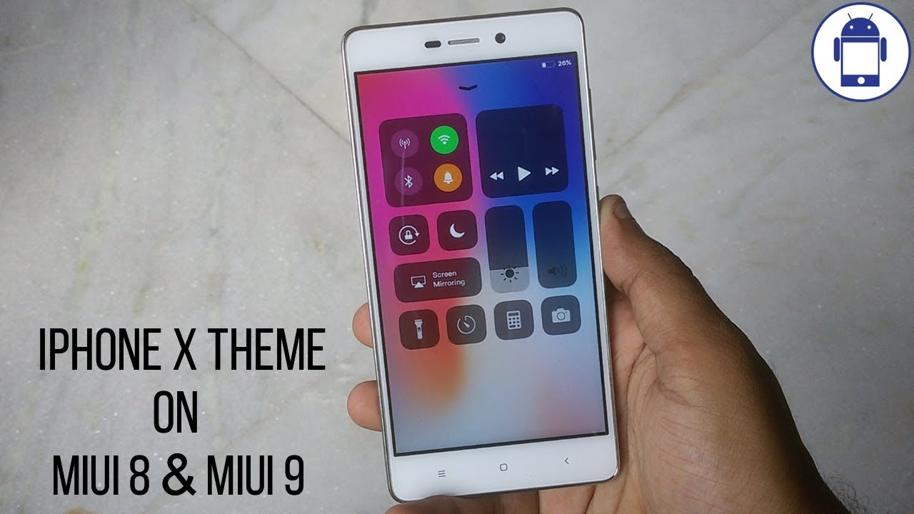 Install IOS 11 iPhone X Theme for any Xiaomi Mi Devices MIUI 8