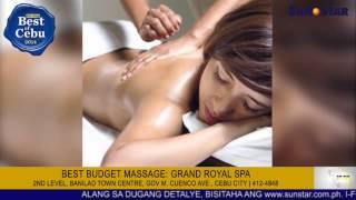 Best Budget Massage: Grand Royal Spa