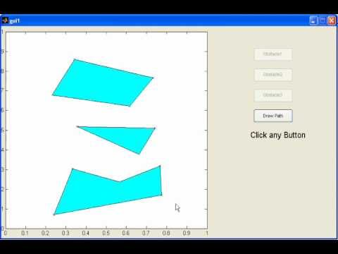 My First Matlab GUI for Motion Planning Simulation