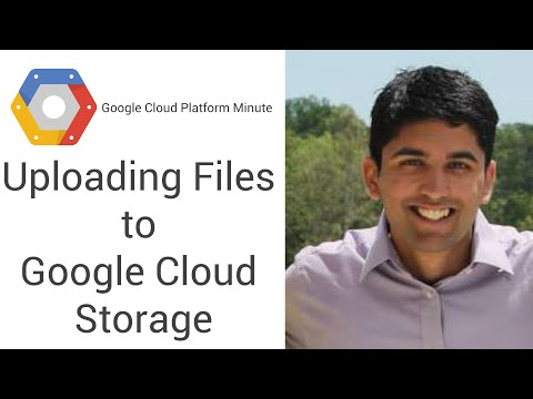 Uploading Files and Folders to Google Cloud Storage - YouTube