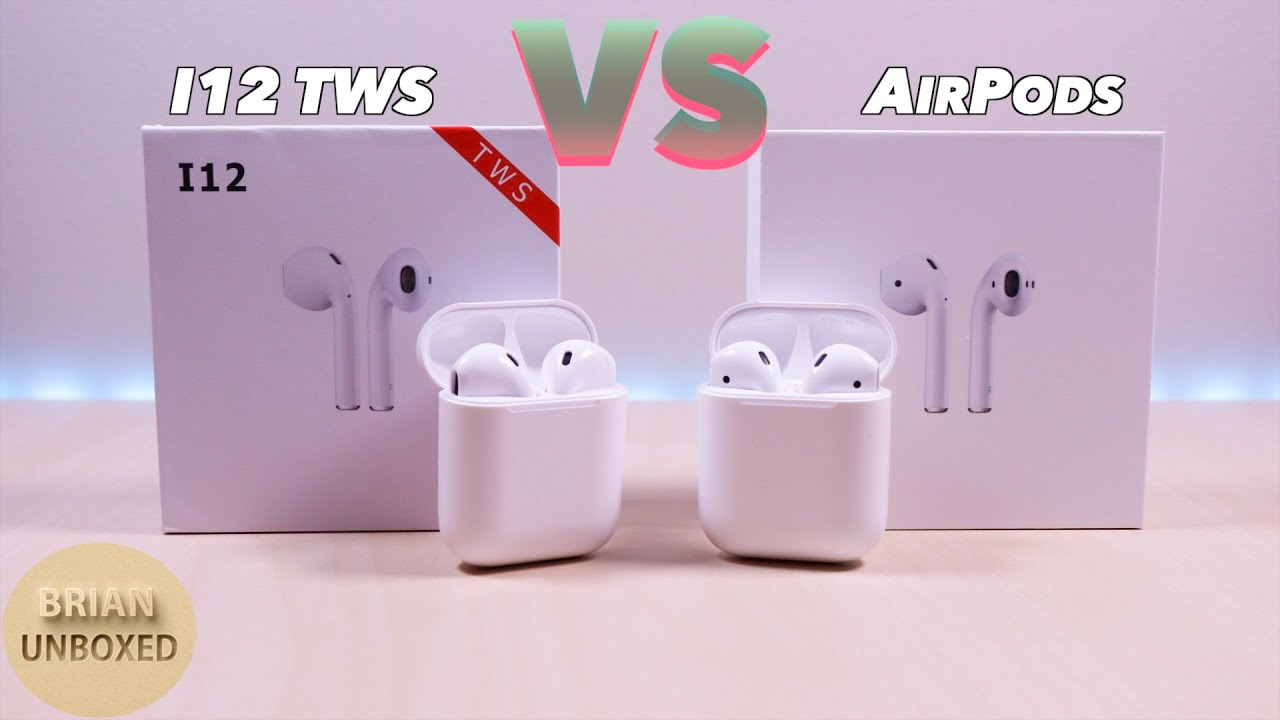 I12 Tws Vs Apple Airpods Watch This Before Buying Airpods Youtube