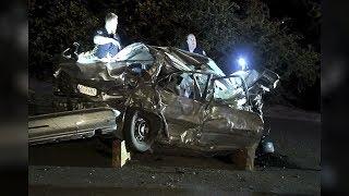 Two dead after car full of teens veers off highway flyover in Walnut Creek