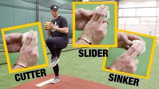 Make Hitters LOOK SILLY With These Nasty Pitches! - Baseball Pitching Tips
