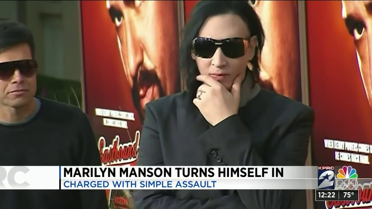 Marilyn Manson turns himself into police for 2019 incident