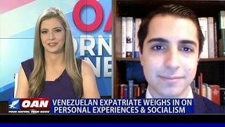 OAN EXCLUSIVE: Venezuelan expatriate weighs-in on personal experiences with socialism