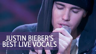 Justin Bieber's Best Live Vocals