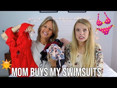 MY MOM BUYS MY BATHING SUITS FOR SUMMER!! Cupshe Haul