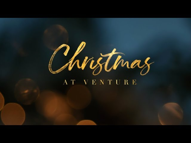 Invitation for Christmas at Venture 2018