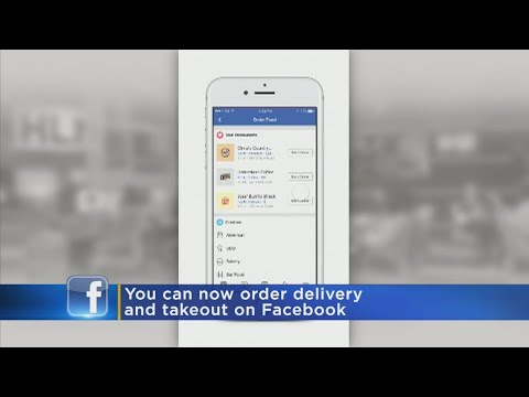 Facebook Wants To Handle Your Food Orders, Too