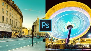 Teal and Yellow Color Grading Effect in Photoshop
