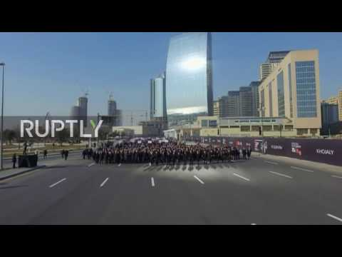 Azerbaijan: Aliyev leads 40,000-strong march to commemorate Khojaly massacre