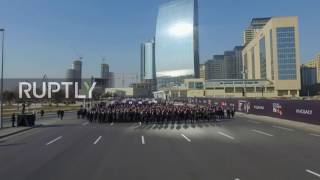 Azerbaijan  Aliyev leads 40,000 strong march to commemorate Khojaly massacre
