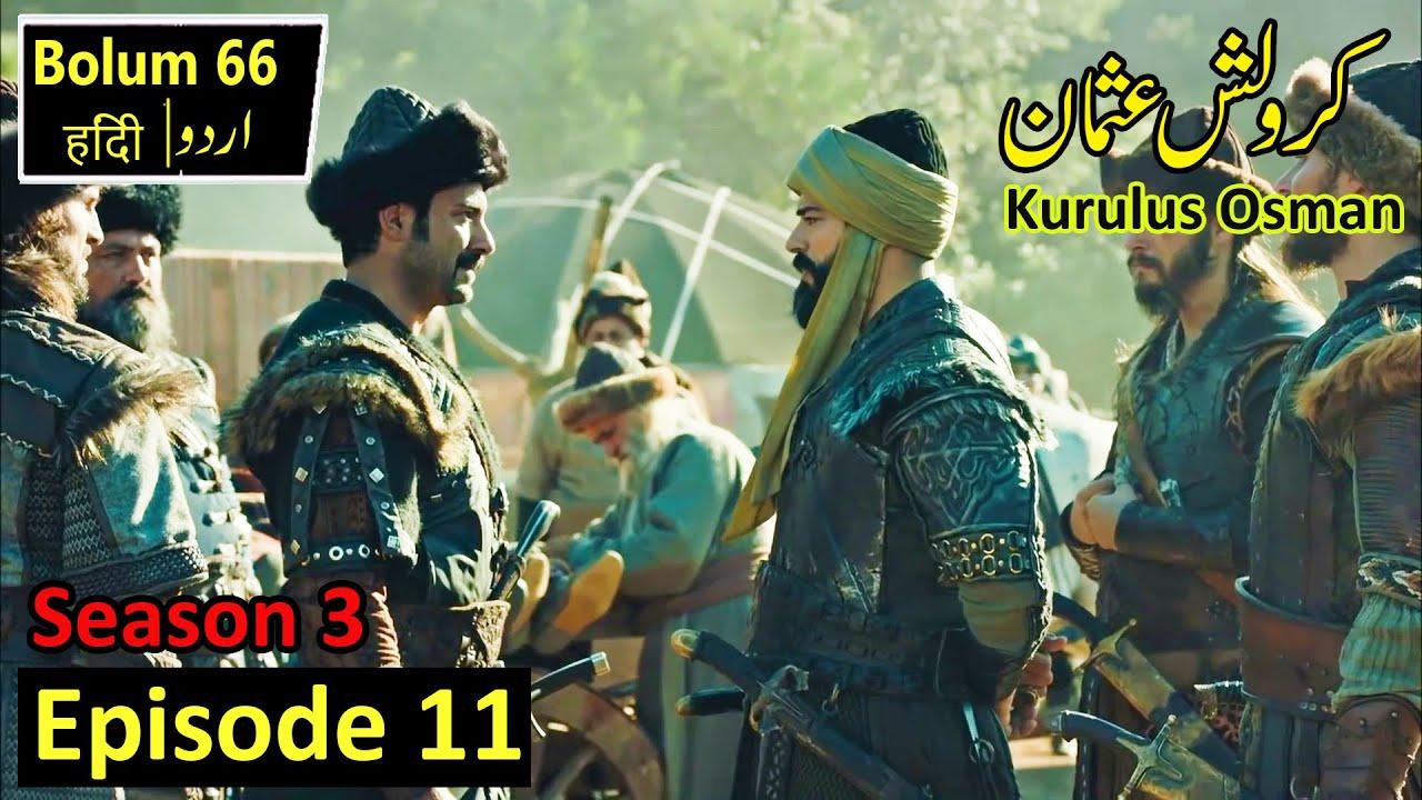 Kurulus Osman Season 3 Episode 11 in Urdu Hindi   Complete Review