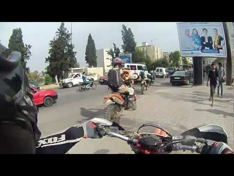 KTM 530 EXC Ride in the city of Fes, Morocco