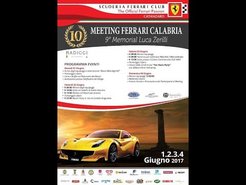 Meeting Ferrari Calabria 9° Memorial Luca Zerilli