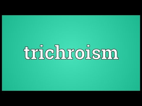Header of trichroism