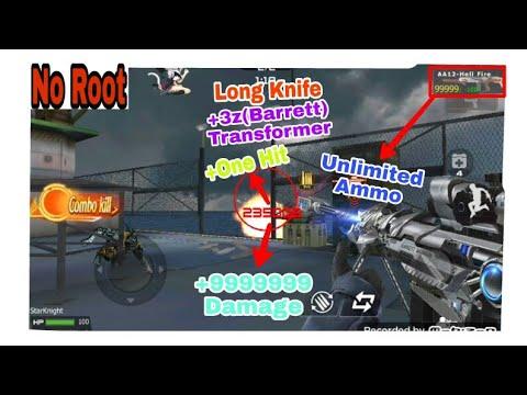 Hack Crossfire Legends/CFL - One Hit+Unlimited Ammo+Long Knife