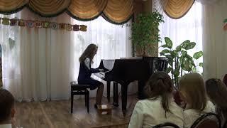 Фишер Прелюдия и фуга исполняет Кожухова Вика