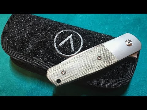 Ray Laconico Knives & Alliance Designs EZE Micarta Bolsterlock Live  Unboxing!