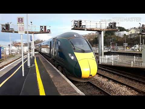 Trains at Exeter St David's (19/1/19)