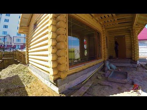 Посмотрел новый объект.Потолок отделать деревянной вагонкой.