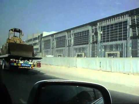Driving by the 8K mall in Doha
