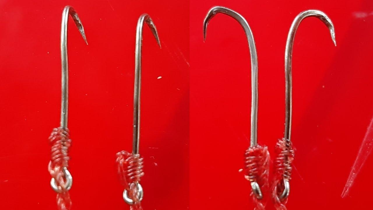 Câu lươn, Cách làm lưỡi câu và tìm hang lươn nhanh nhất