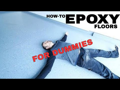 How to Epoxy Garage floor