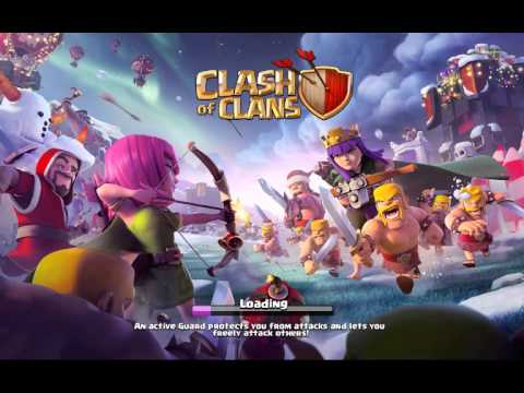 Clash of Clans skeleton double wall glitch. Dec 2015 update
