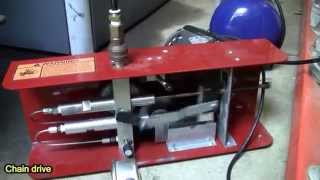 shoebox compressor belt drive upgrade before after