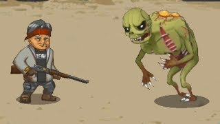 Люди против Зомби! Прохождение Human vs Zombies a zombie defense game #2
