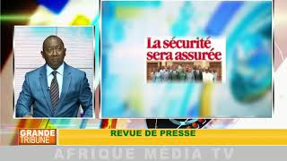 Revue de presse :GRANDE TRIBUNE DU 14 08 2018