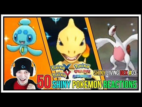 50 Shiny Pokemon Live Reactions! | Shiny Living Dex #101-150 | Pokemon X and Y - Pokemon ORAS
