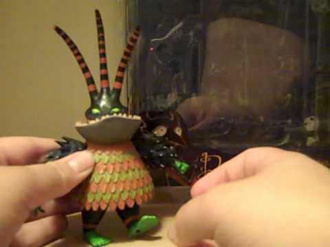Nightmare Before Christmas Neca Harlequin Demon Toy Review - YouTube