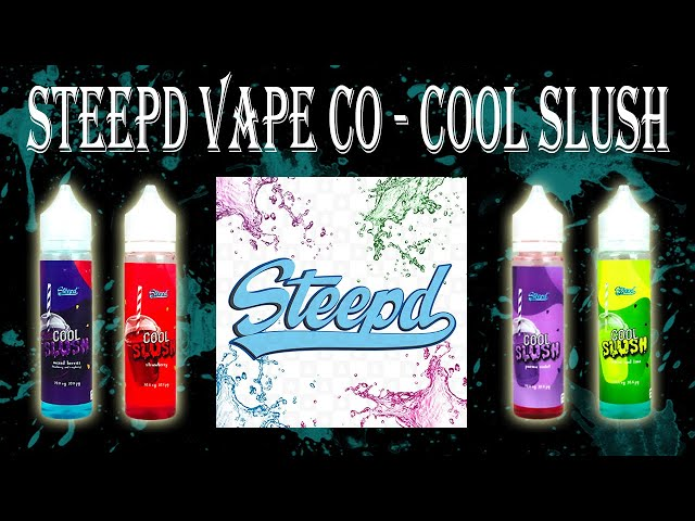 APV 297. Líquidos Steepd Vape Co