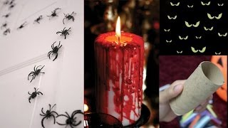 3 Easy & Quick Halloween Decoration Ideas!
